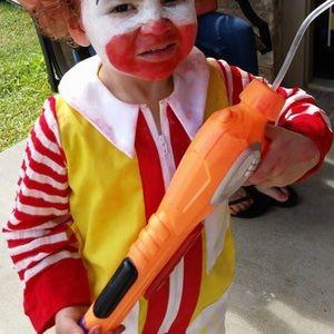 Other - Ronald McDonald Halloween kid's costume